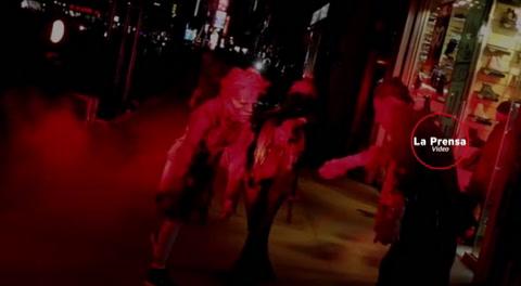 Heidi Klum es la reina de Halloween y con su disfraz rindió homenaje a Michael Jackson