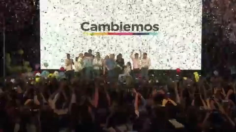 Macri celebra triunfo en legislativas argentinas con su alianza
