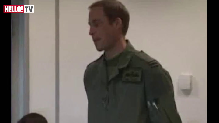 Prince William presented with his search and rescue wings