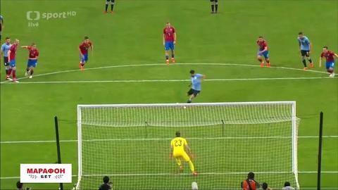 Uruguay 2-0 República Checa (Amistoso internacional)