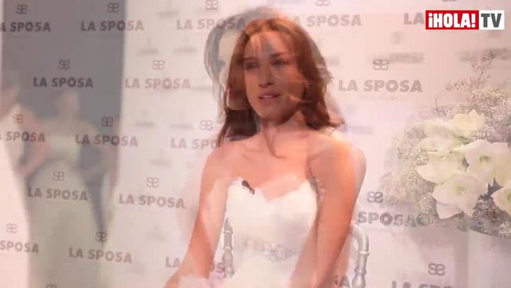 Raquel Jiménez, novia de Bisbal: \'Mi corazón está muy feliz\'