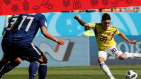 EHmojicrónica: Japón sorprende a Colombia en su detub