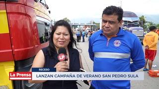 Lanzan campaña de verano en San Pedro Sula previo a Semana Santa