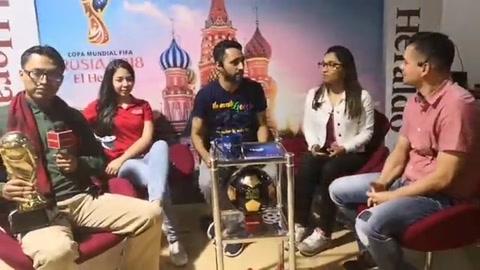 ZONA RUSA correspondiente al mIercoles 20 de junio de 2018