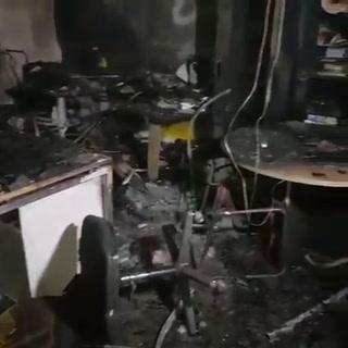 En completa destrucción dejan agencia bancaria en SPS