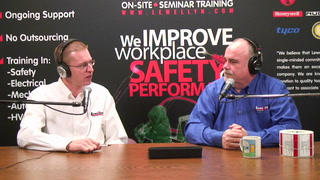 Workplace Safety Show – Ep. 06 – Removal of Arc Flash Hazards