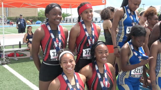 Girls 3A State Track