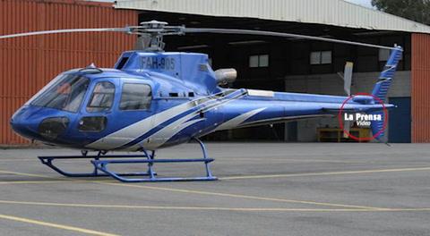 Grabación de la comunicación entre el Helicóptero y la torre de control