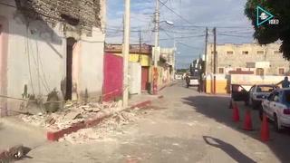 Así quedó Axochiapan, Morelos, tras el temblor