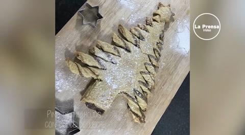 Cocinando con Mayte: Pino de mil hojas con dulce de leche