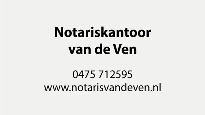 Notariskantoor van de Ven - Bedrijfsvideo
