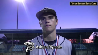 Plymale Pitches Trigg to District Title