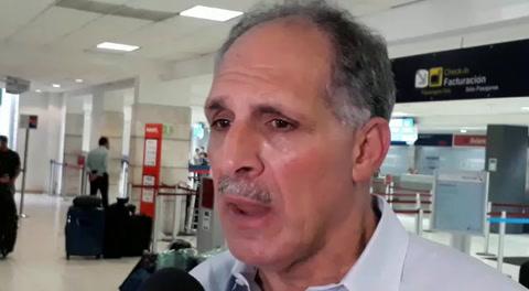 Reacción de alcalde Tito Asfura tras accidente avioneta Toncontín