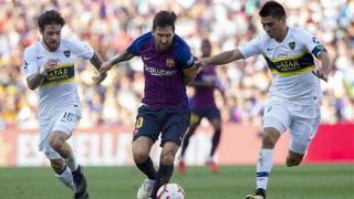 Barcelona derrota al Boca Juniors y se queda con el Trofeo Joan Gamper