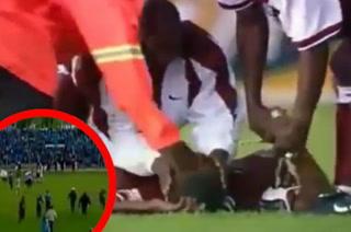 YouTube: Los terribles rayos que electrizaron un partido de fútbol