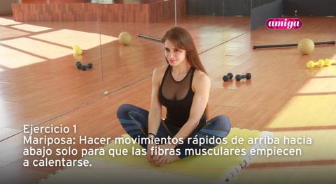 Amiga: Yoga para flexibilizar la cadera