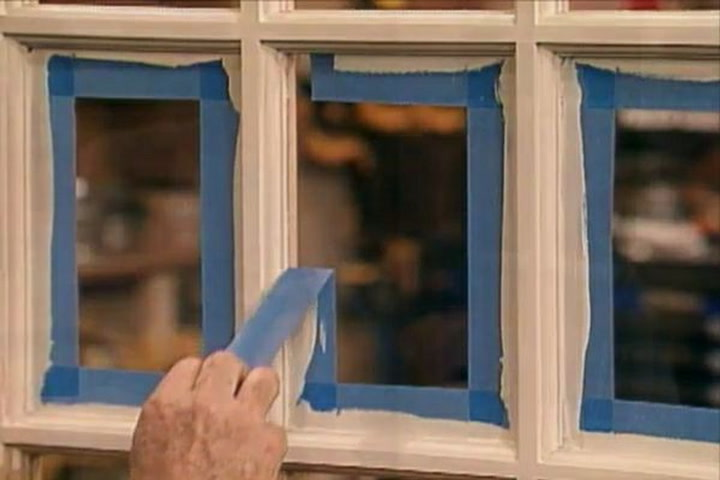 how to paint window frames neatly and quickly diy projects videos - Window Picture Frame