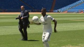 El joven brasileño Vinicius Jr llega ilusionado al Real Madrid