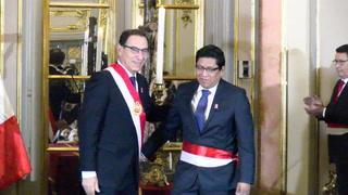 Juramenta nuevo ministro de Justicia peruano