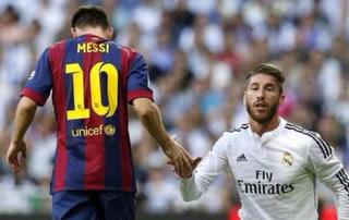 Un dolor de Cabeza: Cuando Sergio Ramos intenta marcar a Leo Messi