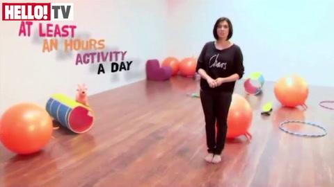 Kym Marsh helps parents on how to get children active