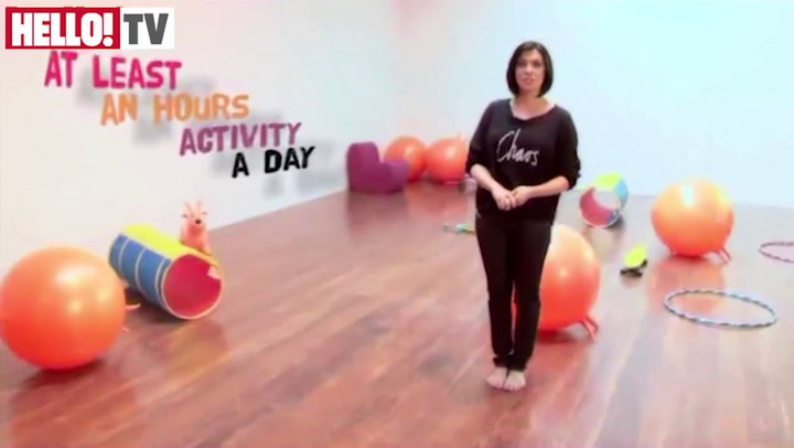 Kym Marsh helps parents on how to get children active