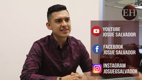 Josué Salvador/Cantante hondureño de música cristiana
