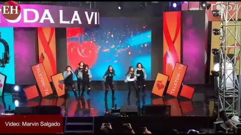 Desfiles de artistas nacionales e internacionales en Teletón 2017