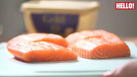 Jo Pratt\'s easy saucy salmon on oodles of noodles