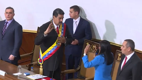 Maduro promete vencer sanciones de EEUU en nuevo mandato