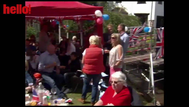 Street parties celebrated across the nation