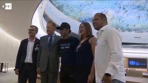Neymar, nuevo embajador de la ONG Handicap International