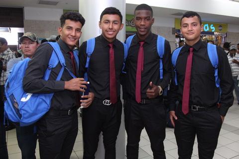 Selección de Honduras Sub-17 viajó a España previo mundial de India