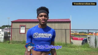Colonels' McGregor Enjoying 7 On 7 Competition