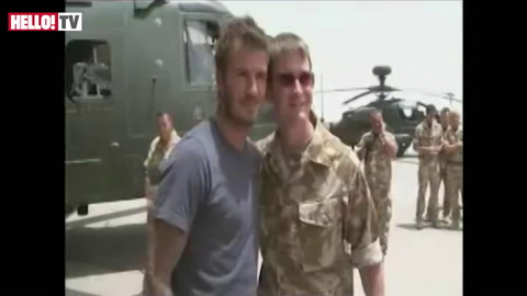 David Beckham visits UK troops in Afghanistan (Video: British Forces News)