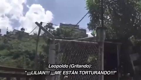 Opositor venezolano Leopoldo López grita desde la cárcel: