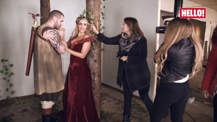 Corrie\'s fairytale lovers: Catherine Tyldesley and Shayne Ward share secrets of their on-screen romance
