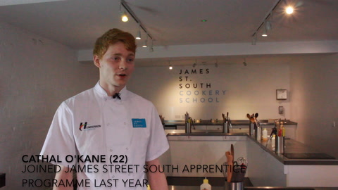 James Street South restaurant apprenticeships open for a fourth year