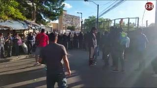 Militarizados los alrededores del CN y zona del centro de Tegucigalpa