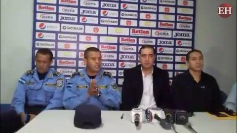 Miembros de Seguridad llaman a la cordura en partido de la Gran Final