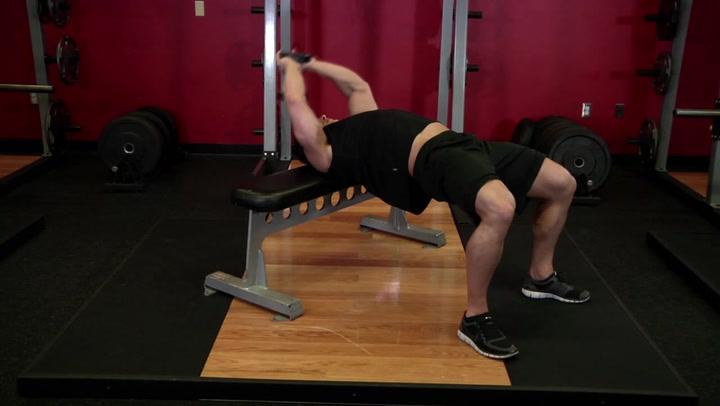 Bent Arm Dumbbell Pullover - Chest / Back Exercise - Bodybuilding.com