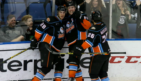 Gulls look to even playoff series with Reign