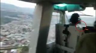 Helicópteros sobrevuelan sobre zonas conflictivas de Tegucigalpa