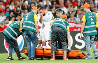Otro caído en Kiev: Dani Carvajal es sustituido por lesión el Real Madrid vs Liverpool