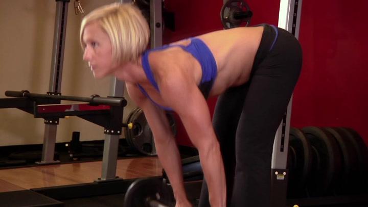 Stiff-Legged Deadlift - Leg Exercise
