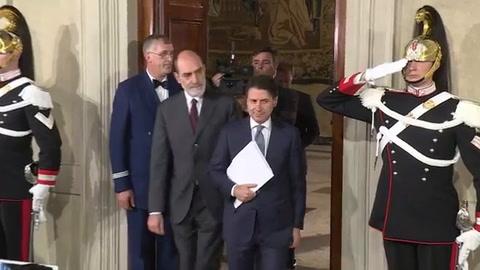 Giuseppe Conte, nombrado jefe del gobierno italiano