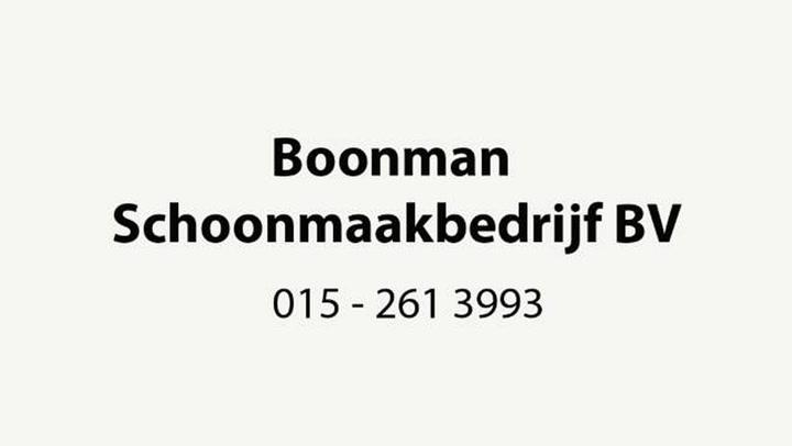 Boonman Schoonmaakbedrijf BV - Video tour