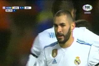 Real Madrid está goleando al APOEL por la Champions League al término de la primera mitad