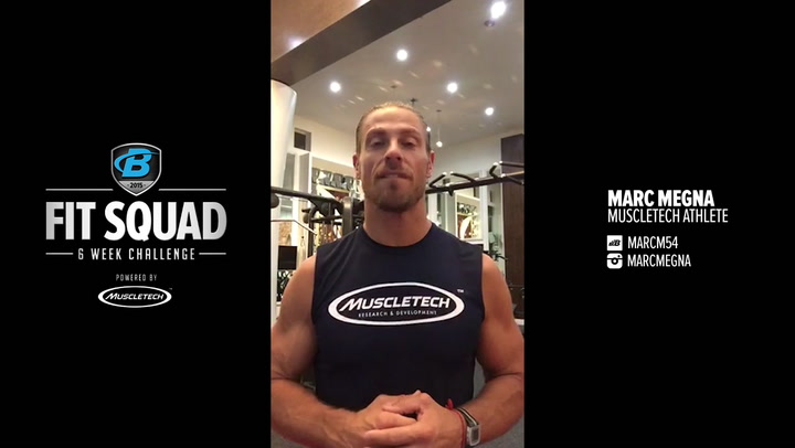 2015 MuscleTech Fit Squad 6-Week Challenge - Getting Started - Marc Megna, Bodybuilding.com
