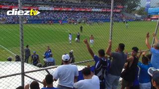 La ovación de la afición a Boniek García y el llanto de Emilio Izaguirre
